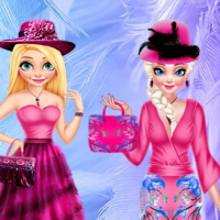 DRESSUP BFF FEATHER FESTIVAL FASHION  Online
