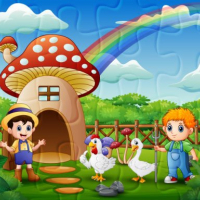 Farm Animal Jigsaw Online