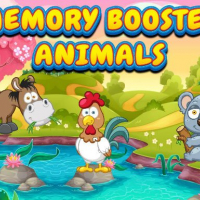 Memory Booster Animals Online