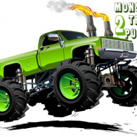 Monster Truck Puzzle 2