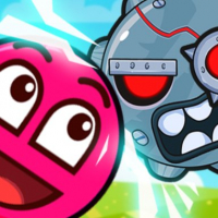 Roller Ball 3: Red Bounce Ball Love Adventure Online