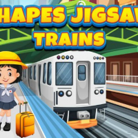 Shapes Jigsaw Trains