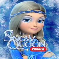 Snow Queen: Frozen Fun Run. Endless Runner Games Online