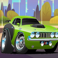 Speedy Muscle Cars Jigsaw