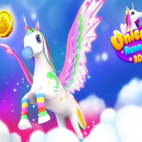 Unicorn Runner 3D Online