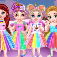Baby Princesses Unicorn Party Online