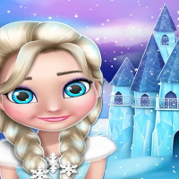 Frozen elsa Princess Doll House Games online