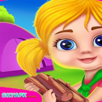 Kids camping : Camping Adventure Game